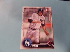 2016 Bowman Draft #BD173 Tyler Wade New York Yankees
