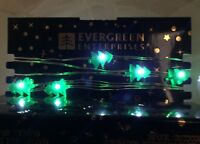 Christmas Tree Battery Xmas Fairy Lights Indoor/Outdoor - 10ft - 30 Bulbs #4N4