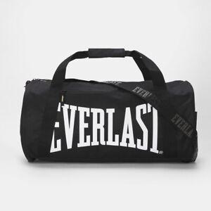 Everlast Black Barrel Gym Bag Men Women Weekend Away Travel Should Bag Aussie