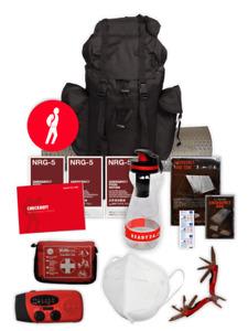 Ready24 Fluchtrucksack für 72 h / 85 Einzelteile