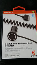 Griffin Technology PowerJolt SE 2 amp Power Charger for iPhone,iPod New 10 Watt