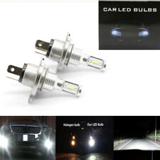 Canbus H4 9003 HB2 SUPER WHITE CSP LED Headlights Bulbs Kit High Low Beam