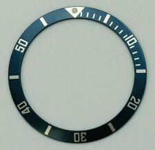 Bezel Insert Ring For Tag Heuer Carrera Blue 34.85mm 1000 Pro Replacement New