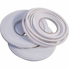 3 X DRAUGHT EXCLUDER WINDOW DOOR SEAL FOAM DRAFT ADHESIVE TAPE WATERPROOF