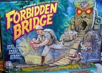 FORBIDDEN BRIDGE GAME *100% COMPLETE & MOTORIZED 1992 MILTON BRADLEY*EXCELLENT!!