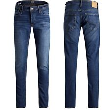 Jack & Jones Jeans GLENN-SLIM stone-grey-black-od.used
