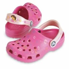 Crocs Girls Dora the Explorer PINK Crocs USA  Little Girls Size 1