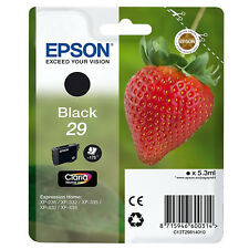 Epson Strawberry Black 29 Ink Cartridge (C13T29814010) Expression Home XP-235
