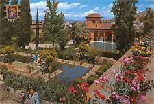 Spain Granada ALhambra Damas Tower and Partal Gardens