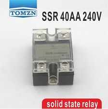 40AA SSR input 90-250V AC load 12-240V AC single phase AC solid state relay