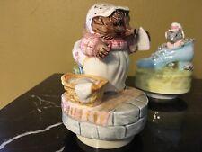 beatrix potter figurine Music Box
