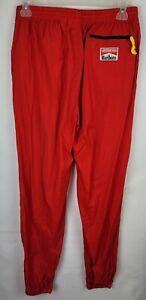 Vintage Marlboro Adventure Team Adult Large Red Windbreaker Swish Track Pants
