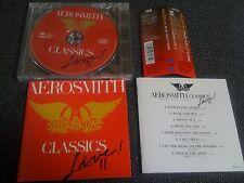 AEROSMITH / live classics 2 /JAPAN LTD CD OBI SBM-CD