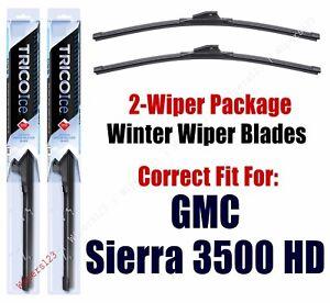 WINTER Wipers 2-pack fits 2007+ GMC Sierra 3500 HD 35220x2