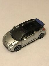 CITROEN  - DS3 2012  CABRIO GRIS  /NOIR  COLLECTION 3 INCHES  SERIE- 2013 1/64