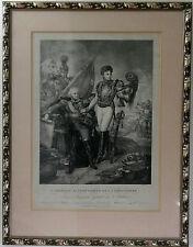 Gravure de Chrétien, d'après A.J. Gros/ Chrétien, engraving from A.J. Gros