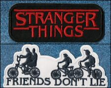 Stranger Things embroidery patches (Lot of 2)