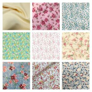 CLEARANCE FAT QUARTER - 100% Cotton fabric, crafts sewing, face coverings, UK