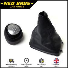 Gear Knob & Leather Gaitor for Saab 9-3 03-12 6 Speed Manual