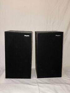 Vintage Rogers LS6a Stereo Speakers