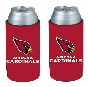 Arizona Cardinals NFL 2 pack Ultra Slim Can Koozie cooler hugger
