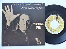 MICHEL PIA Le premier matin du monde 126069 SECRAN JEANMAIRE Discotheque RTL