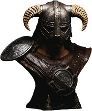 THE ELDER SCROLLS V: Skyrim - Dragonborn 1:1 Scale Bust (Gaming Heads) #NEW