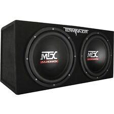Subwoofer Box 12 Inch Sub Dual MTX Audio Terminator Series TNP212D2 Enclosure