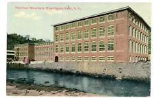 Wappingers Falls NY -DUTCHESS BLEACHERY FACTORY- Postcard Dutchess County