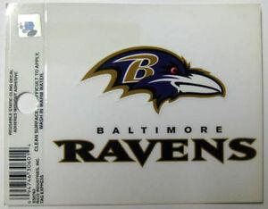BALTIMORE RAVENS team STICKER with BIRD , Decal, MARYLAND, NFL Football, Label