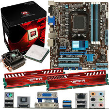 AMD X8 Core FX-8350 4.0Ghz & ASUS M5A78L-M USB3 & 8GB DDR3 1600 Viper Venom Red