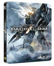 BLU-RAY  PACIFIC RIM 3D STEELBOOK - Limited Edition - NEU & OVP