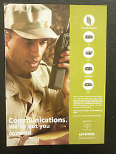 2/05 PUB HARRIS MILITARY COMMUNICATIONS VHF UHF HF MULTIBAND RADIO FALCON II AD