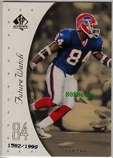 1999 SP AUTHENTIC ROOKIE CARD RC #132: BOBBY COLLINS #1582/1999 BUFFALO BILLS