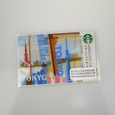 Starbucks Gift Card Japan Limited TOKYO w/ sleeve* New logo