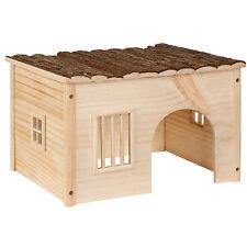 Casa casita de roedores madera roedores conejillo de indias hámster tamaño M NUE
