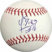 Yusniel Diaz signed baseball BAS Beckett Baltimore Orioles autographed