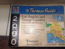 2000 Los Angeles and Orange County Thomas Bros Street Map Guide Zip Code 85th Yr