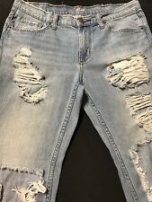 BDG Jeans/Distressed Womens/Boyfriend/DlimSz.28x27-Cotton:L. Blue Denim