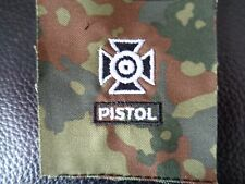 ^ a4-085 US schiessabzeichen per BW tarnfleck Sharpshooter Pistol Nero Bianco