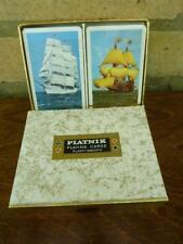 2 nice packs of  Piatnik vintage playing cards Tall Ships Still sealed