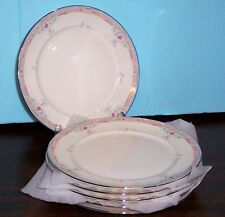 """5 LENOX EMILY DEBUT COLLECTION BREAD & BUTTER PLATES 6.5"""" NEVER USED FREE US SHI"""