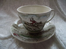 Ironstone British Alfred Meakin Pottery Cups & Saucers