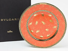BVLGARI Rosen thal Porcelain Dinner Plate Dish Saucer Tableware Ornament Auth