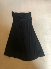 Next Bandeau Summer Dress - Black UK12