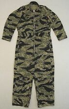 USMC Tiger Stripe Flight Suit Size 38R 100% Original Excellent Condition RARE