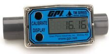 GPI TM050 PVC Turbine Flowmeter for Use with Water & Mild Chemicals,