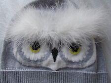 Kate Spade New York Knit Hat Star Bright Owl Beanie NEW $68