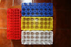 Plastic test tube rack stand lab 24 tubes 25mm Blue NEW