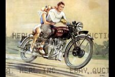 Vincent Series B Rapide Poster 1946 print image poster ca 8 x 10 print prent